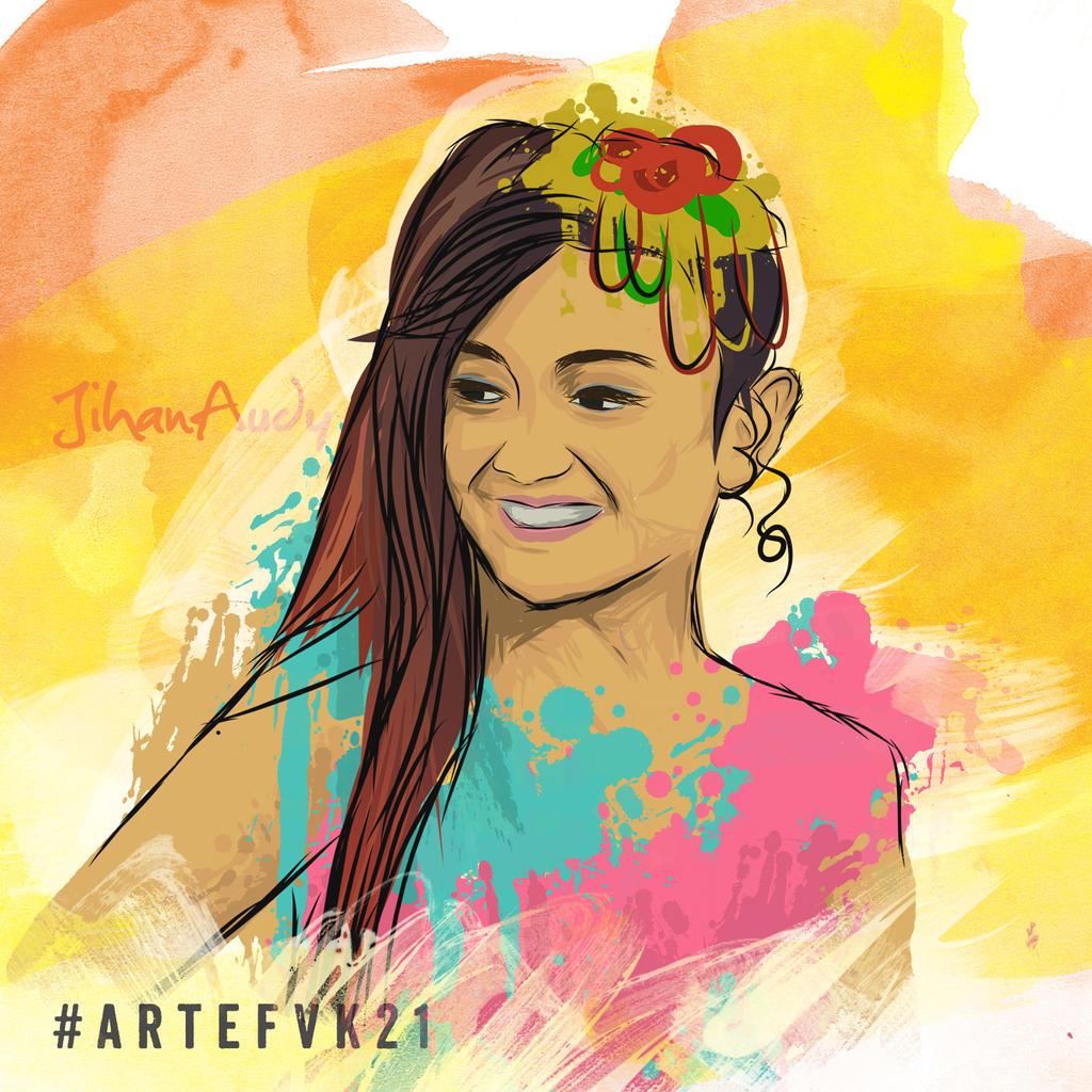 Jihan Audy By Azkaibawa On Deviantart