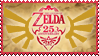 Zelda 25th Anniversary Stamp by Niraven