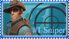 BLU Sniper stamp by Niraven