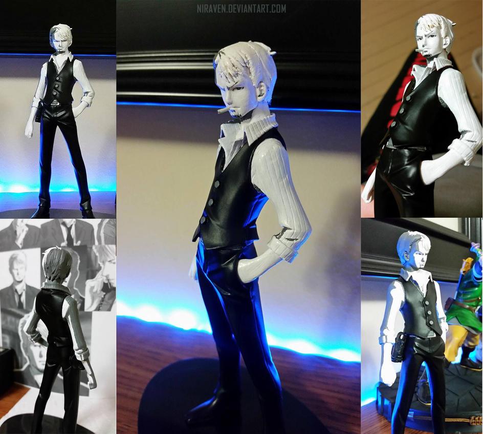 .:Custom Figure Mod:. Kyle Hyde - Hotel Dusk by Niraven
