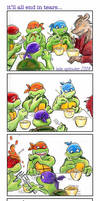 TMNT: It'll all end in tears. by loolaa