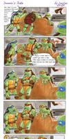 TMNT: Donnie's Joke by loolaa