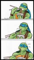 TMNT: Noodles by loolaa