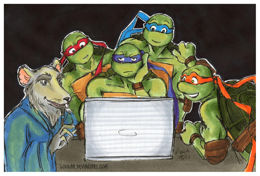 TMNT: Something Interesting? by loolaa