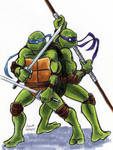 TMNT: Don and Leo