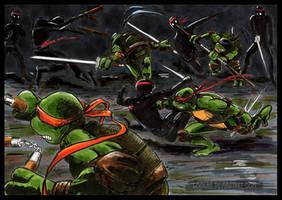 TMNT: Fighty Fight Fight by loolaa