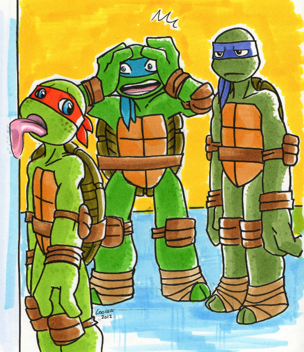 TMNT Advent Calendar 19: Ice by loolaa on DeviantArt