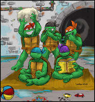 Toddler Turtles for DS by loolaa