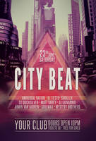 City Beat Flyer by styleWish