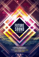 Future Sound Flyer by styleWish