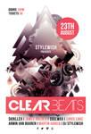 Clear Beats Flyer