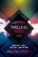 Thrilling Vibes Flyer by styleWish