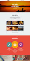 Flatmuse - One Page Muse Theme by styleWish