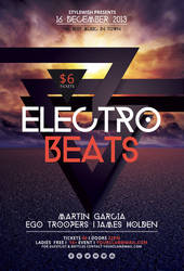 Electro Beats Flyer by styleWish