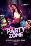 Party Zone Flyer