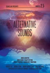 Alternative Sounds Flyer by styleWish