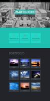 Flatblocks - One Page Muse theme