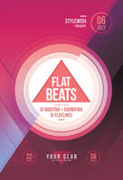 Flat Beats Flyer by styleWish