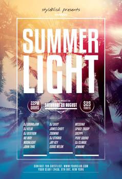 Summer Light Flyer
