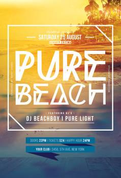 Pure Beach Flyer