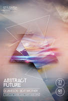 Abstract Future Flyer by styleWish
