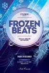 Frozen Beats Flyer