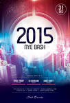 2015 NYE Bash Flyer by styleWish