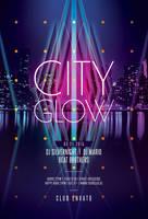 City Glow Flyer by styleWish