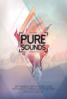 Pure Sounds Flyer by styleWish