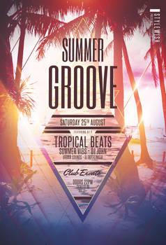 Summer Groove Flyer