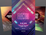 Geometric Flyer Bundle Vol.06