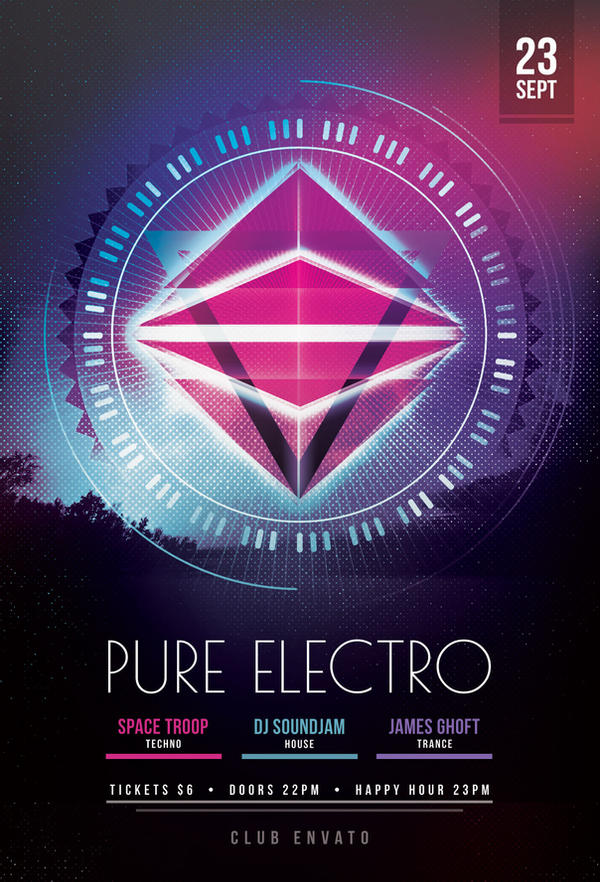 Pure Electro Flyer by styleWish on DeviantArt – Electro Flyer