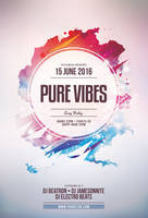 Pure Vibes Flyer by styleWish