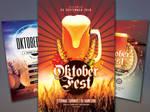 Oktoberfest Flyer Bundle by styleWish