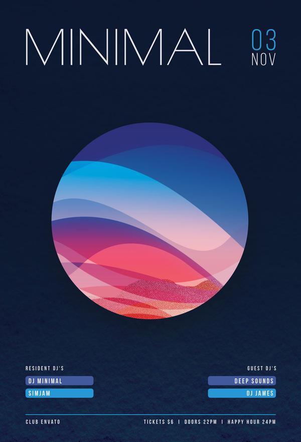 Minimal Flyer by styleWish