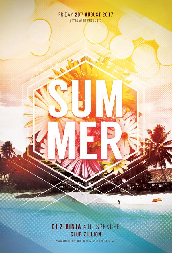 Summer Flyer by styleWish