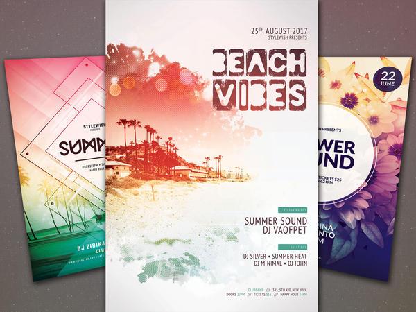 Summer Flyer Bundle Vol.05 by styleWish