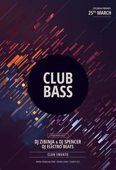 Club Bass Flyer