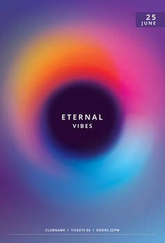 Eternal Vibes Flyer