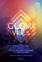 Glow Vibes Flyer by styleWish