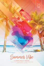 Summer Vibe Flyer by styleWish