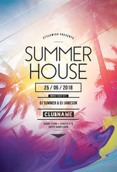 Summer House Flyer by styleWish