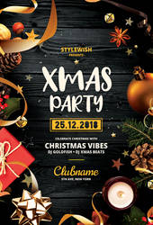 Xmas Party Flyer by styleWish