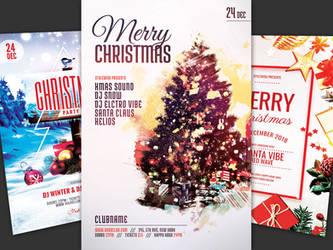 Christmas Flyer Bundle Vol.06 by styleWish