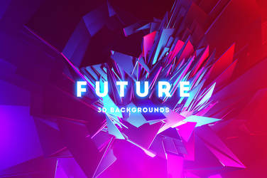 Future - 20 Abstract 3D Backgrounds by styleWish