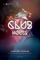 Club House Flyer