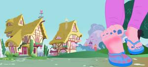 Pinkie Flip-Flops by vitorponysoles