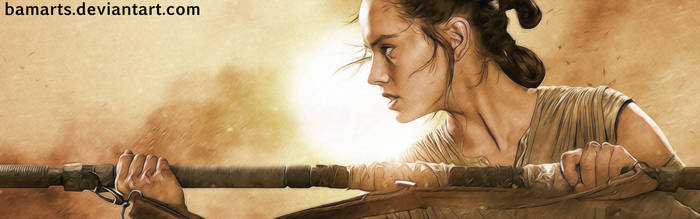 The Force Awakens: Rey final