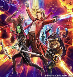 Guardians of the Galaxy 2 final by Bamarts