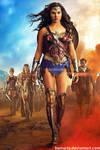 Wonder Woman Gal Gadot (with inks)